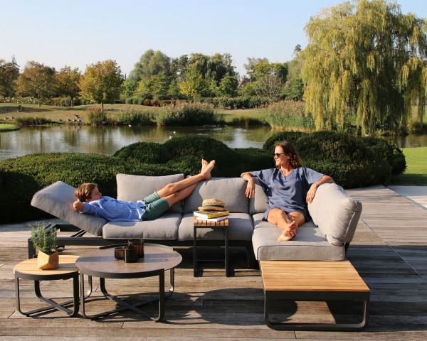 Garten Lounge Set Fly verstellbar und wandelbar - bowi.ch