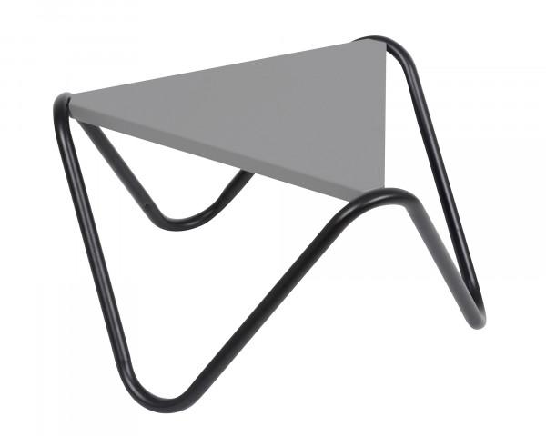 Lafuma Beistelltisch Vogue in der Gestell Farbe Noir und Tischplatten Farbe in Stone freigestellt - bowi.ch
