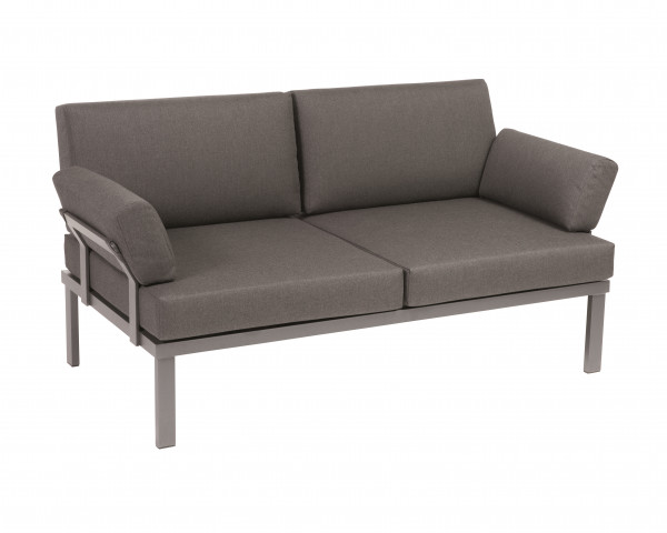 Garten Lounge Lido Sofa aus dem Hause Karask wasserfeste Kissen Aluminium Gestell Gartenmöbel BOWI - bowi.ch