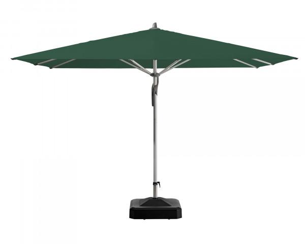 Sonnenschirm Fortero® Glatz rechteckig Dunkelgrün - bowi.ch