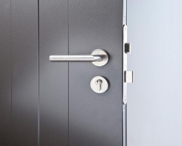 Türöffnung mit einem 3-fach Zylinderschloss - bowi.ch