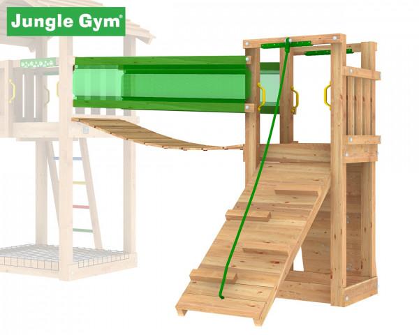Bridge Modul Jungle Gym mit Kletterwand, Rampe und Brücke - bowi.ch