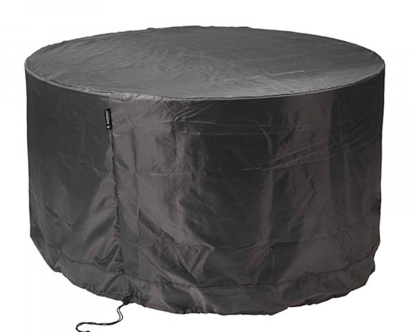 Abdeckung für runde Tischgruppe Ø 250 / H 85 cm AeroCover Schutzhülle Anthrazit BOWI - bowi.ch