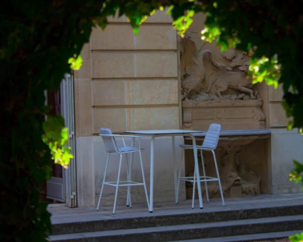 Gartenbar Set Starling Weiss - bowi.ch